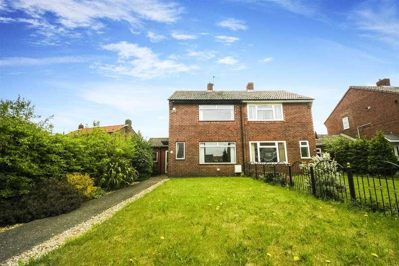 2 Bedrooms Semi Detached House for sale in Terrier Close, Bedlington