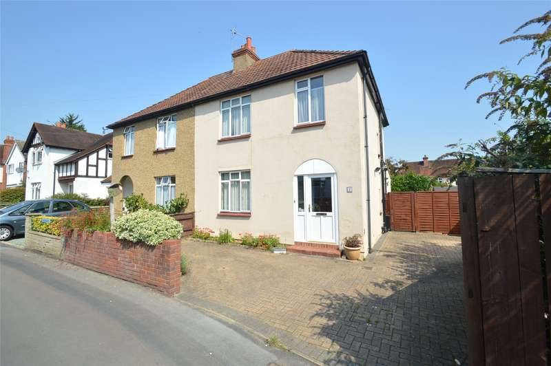 3 Bedrooms Semi Detached House for sale in Crescent Drive, Maidenhead, Berkshire, SL6