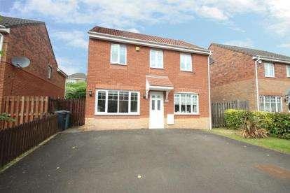 4 Bedrooms Detached House for sale in Rockbank Crescent, Glenboig, Coatbridge, North Lanarkshire