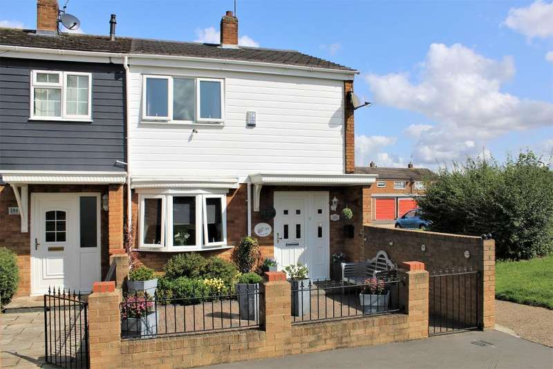 2 Bedrooms End Of Terrace House for sale in Jerounds, Harlow, Essex, CM19 4HH