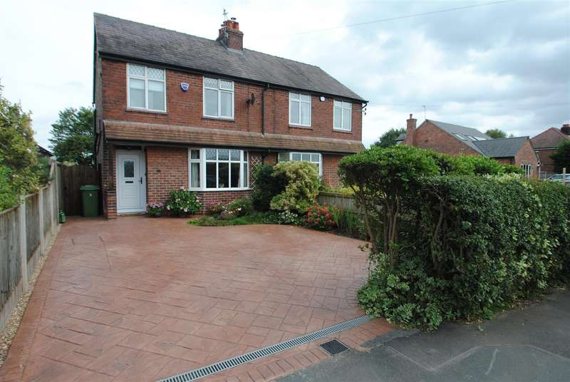 2 Bedrooms Semi Detached House for sale in Knutsford Road, ANTROBUS, Northwich, CW9