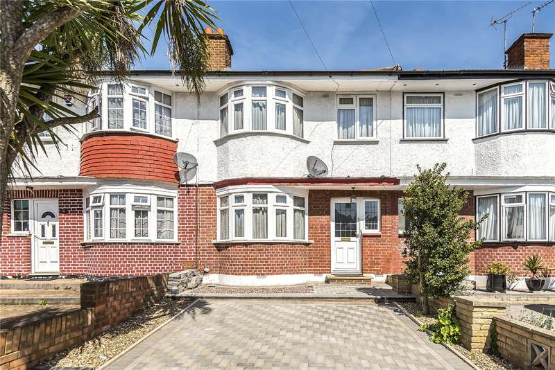 3 Bedrooms Terraced House for sale in Drake Road, Harrow, Middlesex, HA2