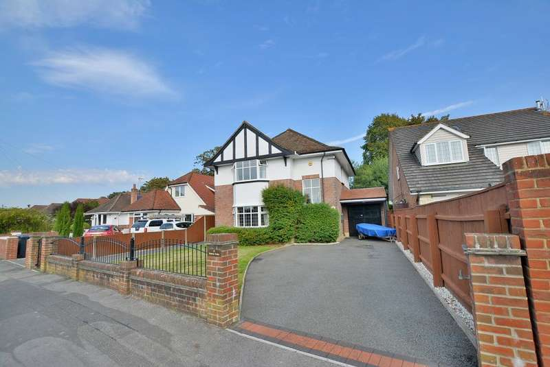 3 Bedrooms Detached House for sale in Avebury Avenue, Northbourne, Dorset, BH10 7ED