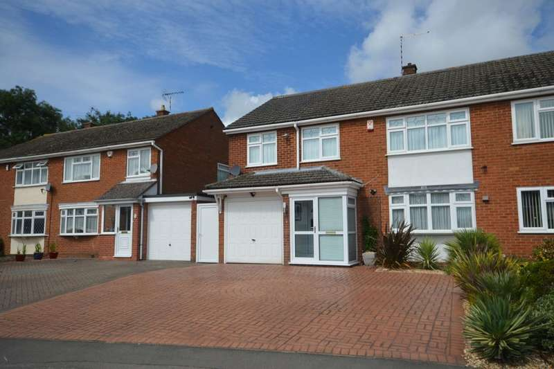 4 Bedrooms Semi Detached House for sale in Linden Farm Drive, Countesthorpe, Leicester, LE8