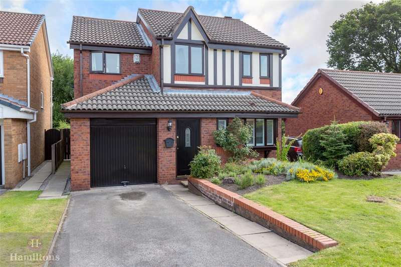 4 Bedrooms Detached House for sale in Aldcliffe, Lowton, Greater Manchester. WA3 2QF