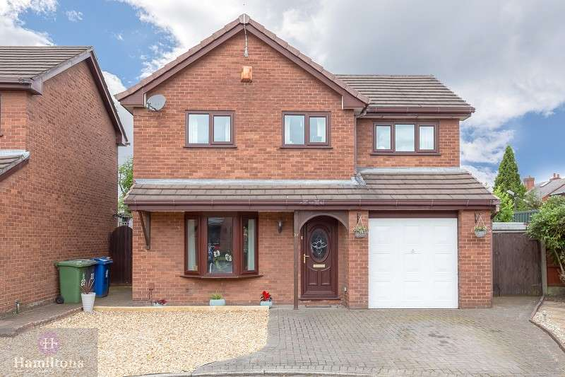 4 Bedrooms Detached House for sale in Holdenbrook Close, Leigh, Greater Manchester. WN7 2HL