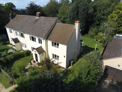 4 Bedrooms Semi Detached House for sale in Piers Court Cottages, Stinchcombe, Dursley, Gloucestershire