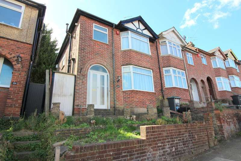 3 Bedrooms End Of Terrace House for sale in Baker Street, Luton, Bedfordshire, LU1 3QB