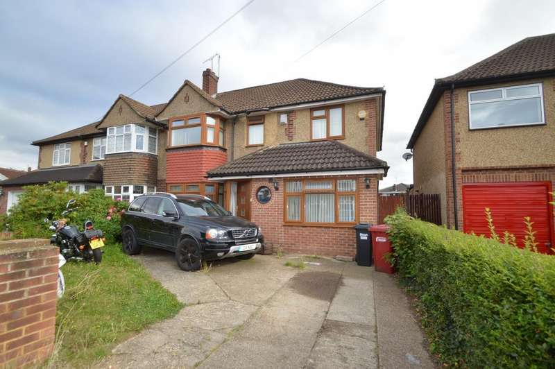 5 Bedrooms Semi Detached House for sale in Bannister Close, Langley, SL3