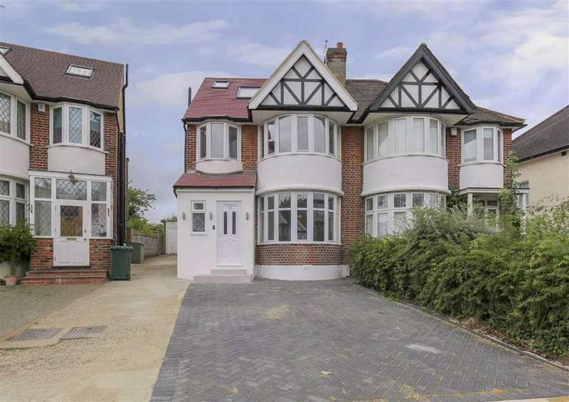5 Bedrooms Semi Detached House for sale in Maxwelton Close, Mill Hill, London, NW7