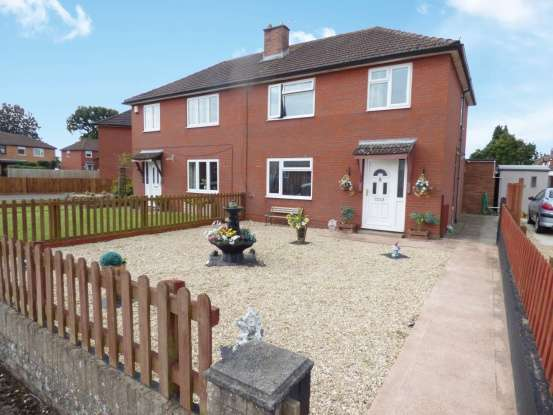 Semi Detached House for sale in Longcroft Rd, Caldicot, Gwent, NP26 4EU