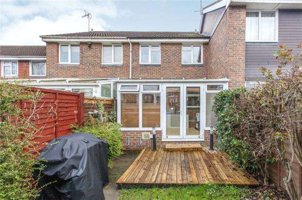 3 Bedrooms Terraced House for sale in Fotherby Court, Maidenhead, Berkshire