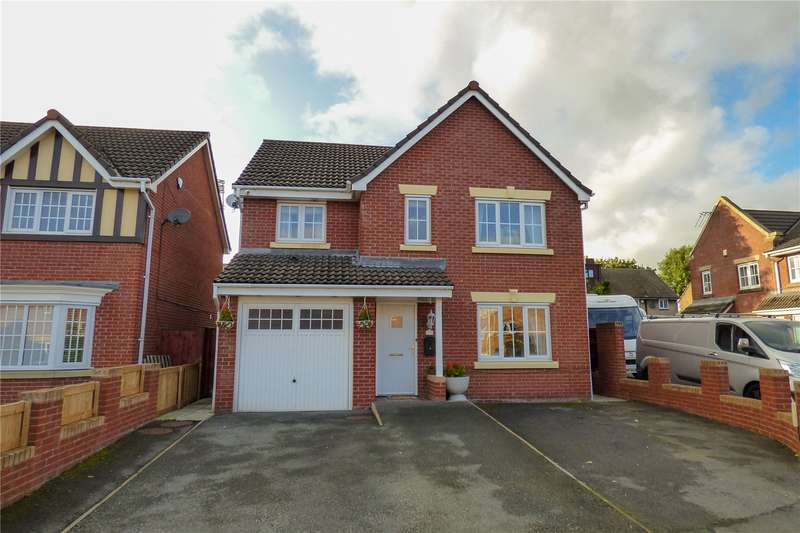 4 Bedrooms Detached House for sale in Cravenwood, Ashton-under-Lyne, Greater Manchester, OL6