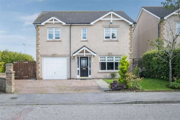 4 Bedrooms Detached House for sale in Woodlands Drive, Ellon, Aberdeenshire