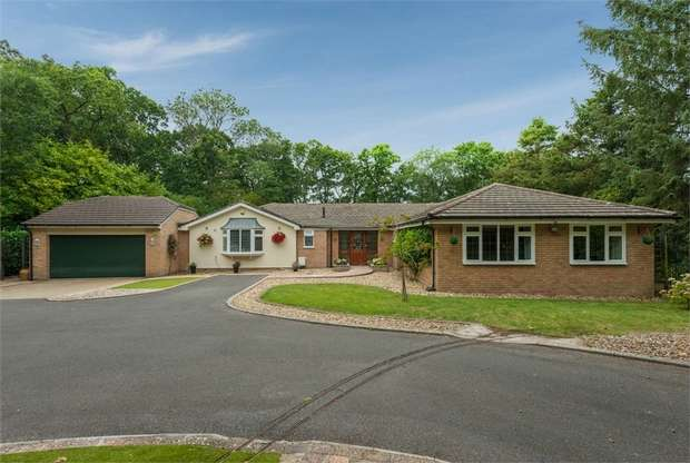 4 Bedrooms Detached Bungalow for sale in Fernhill Lane, New Milton, Hampshire