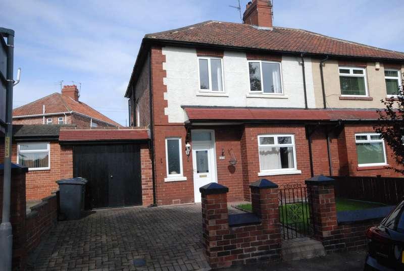 3 Bedrooms Semi Detached House for sale in Field Terrace, Jarrow