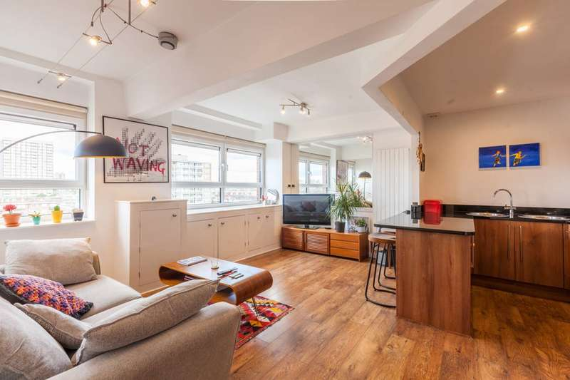 2 Bedrooms Flat for sale in City View House, Bethnal Green Road, Bethnal Green, E2