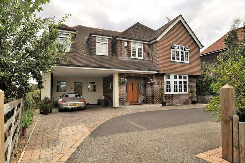 5 Bedrooms Detached House for sale in Ranworth, Boughton Aluph, TN25