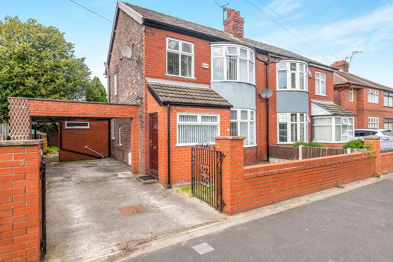 3 Bedrooms Semi Detached House for sale in Hale Road, Widnes, Cheshire, WA8