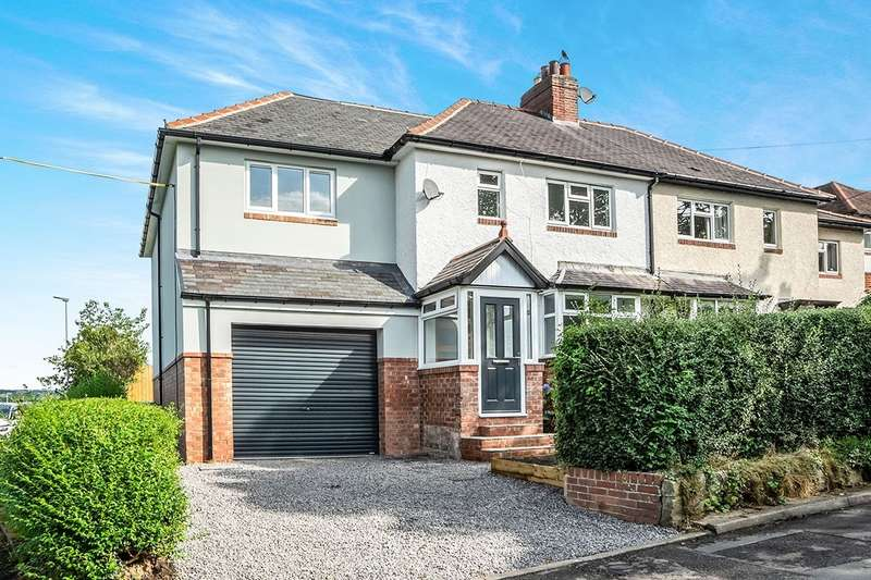 4 Bedrooms Semi Detached House for sale in Painshawfield Road, Stocksfield, Northumberland, NE43