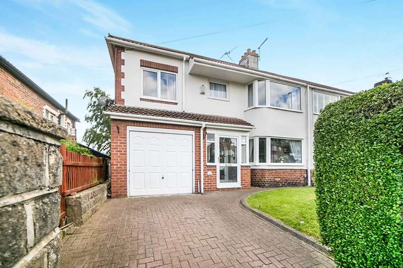 4 Bedrooms Semi Detached House for sale in Lobley Hill Road, Gateshead, Tyne And Wear, NE11