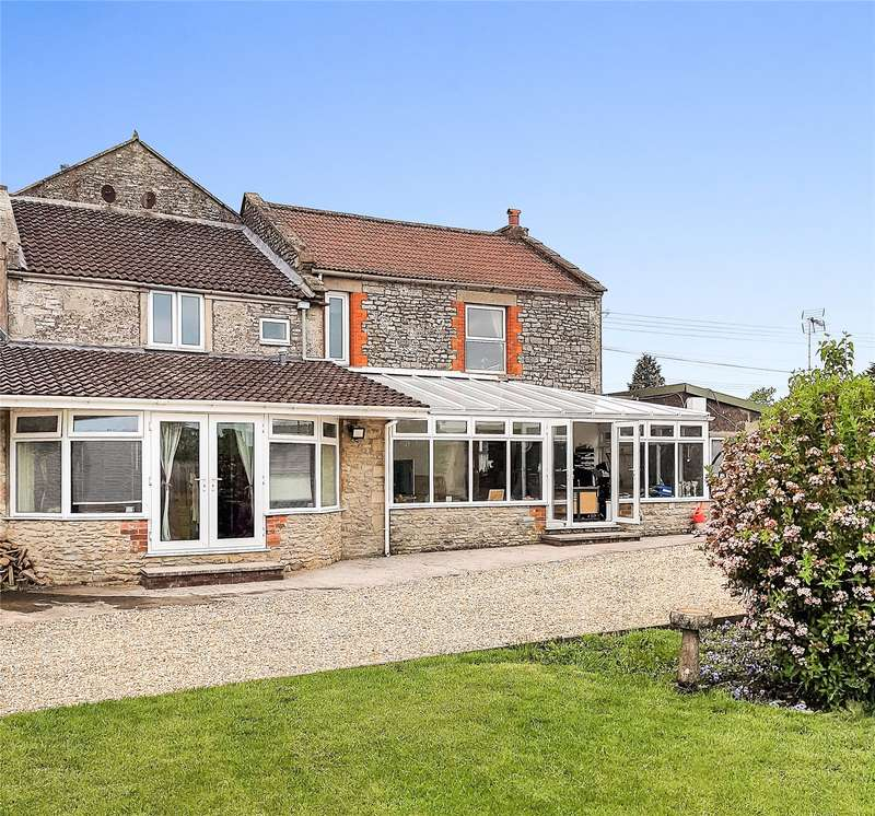 6 Bedrooms Detached House for sale in Cannards Grave, Shepton Mallet, Somerset, BA4