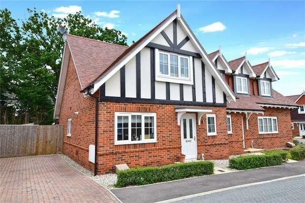 3 Bedrooms Semi Detached House for sale in Colborne Close, Iver Heath, Buckinghamshire