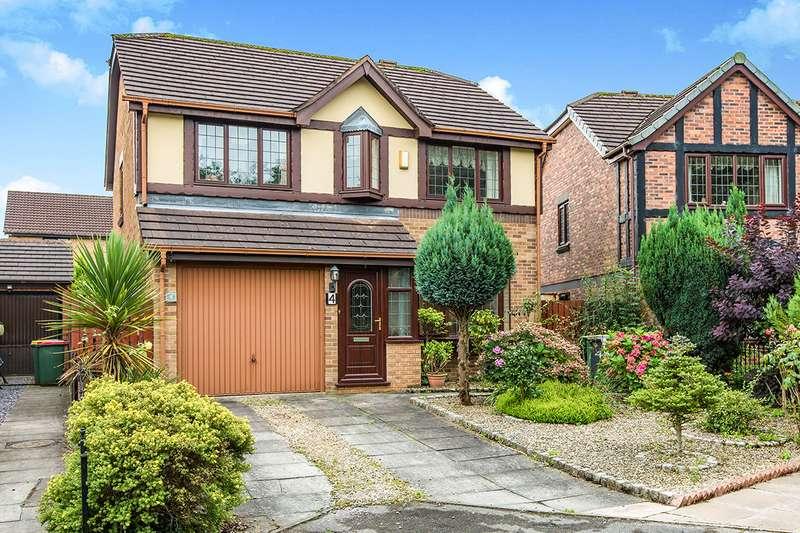 4 Bedrooms Detached House for sale in Kingsmuir Avenue, Fulwood, Preston, PR2