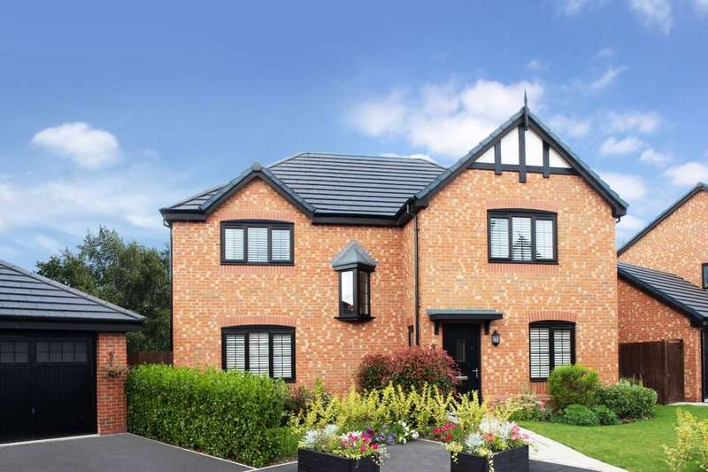 4 Bedrooms Detached House for sale in Cheerbrook Gardens Off Cheerbrook Road, Willaston, Nantwich, CW5