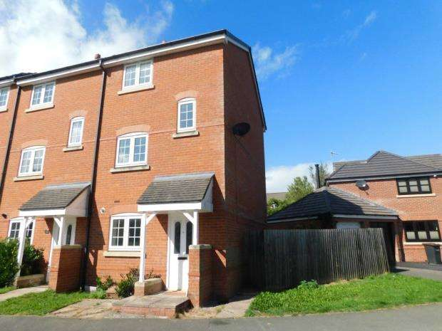 4 Bedrooms Semi Detached House for sale in Williamson Drive, Nantwich, Cheshire