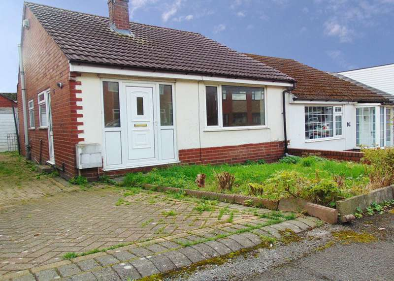 2 Bedrooms Semi Detached Bungalow for sale in Ash Grove, Royton