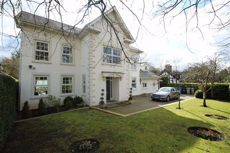 6 Bedrooms Detached House for sale in Hawley Lane, Hale Barns