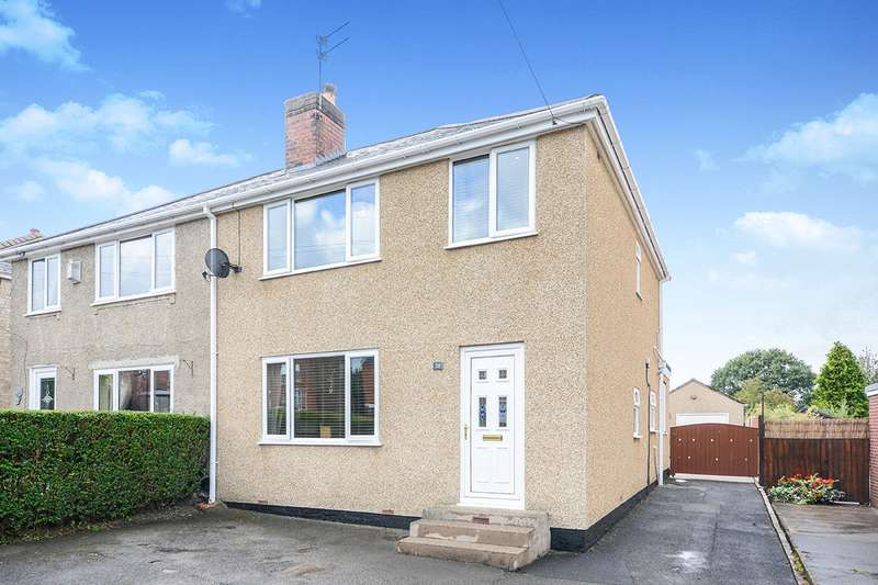 3 Bedrooms Semi Detached House for sale in Park House Road, Chesterfield, S45