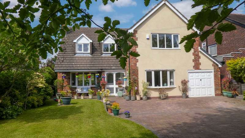 4 Bedrooms Detached House for sale in COPPICE ROAD, POYNTON