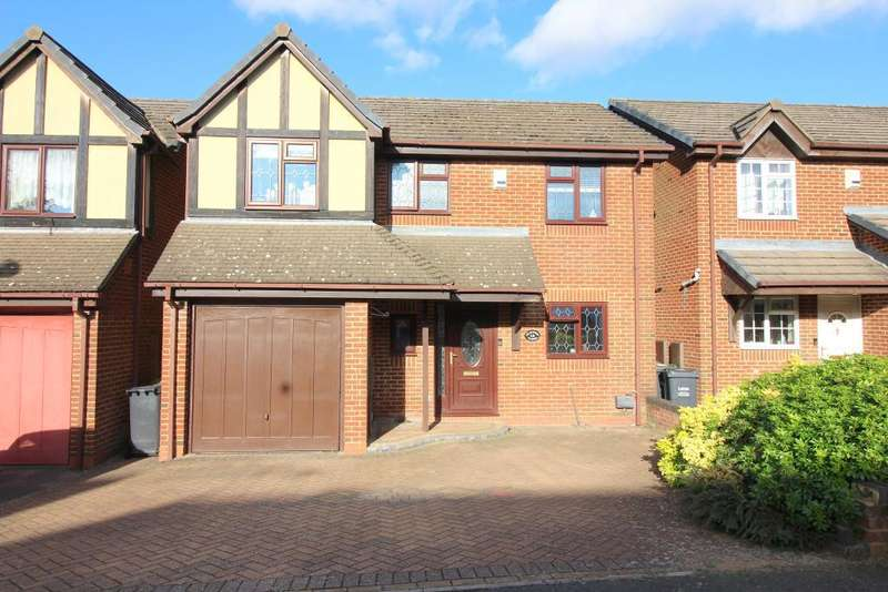 4 Bedrooms Detached House for sale in Tameton Close, Luton, Bedfordshire, LU2 8UX