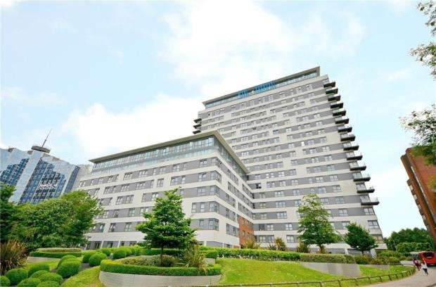 2 Bedrooms Apartment Flat for sale in Skyline Plaza, Alencon Link, Basingstoke