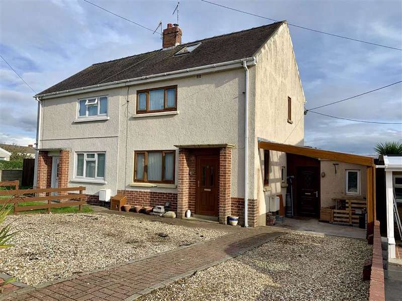 2 Bedrooms Semi Detached House for sale in Pencoed Road, Burry Port
