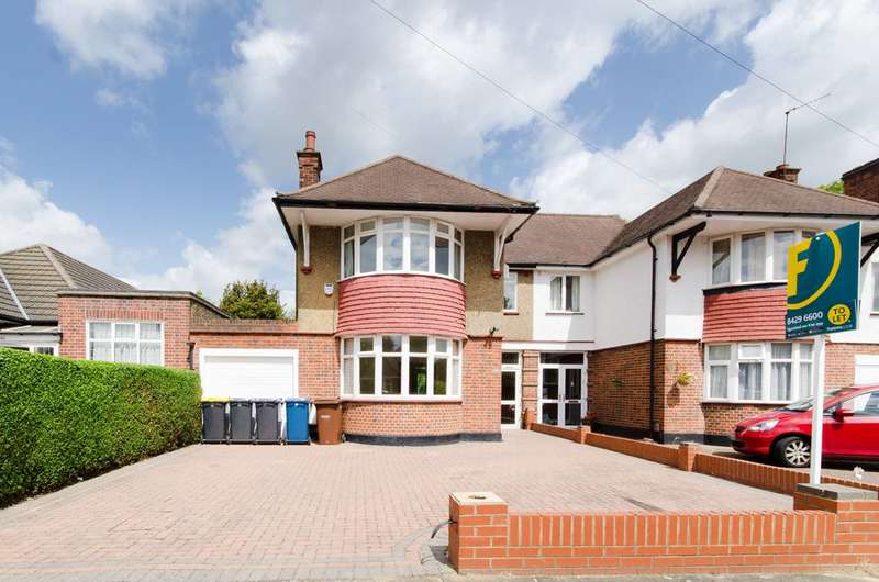 3 Bedrooms Semi Detached House for rent in Farm Avenue, Rayners Lane, HA2