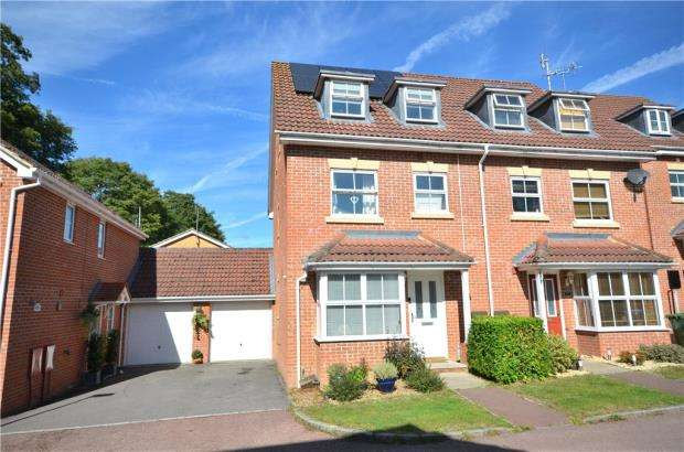 4 Bedrooms Semi Detached House for sale in Hollerith Rise, Bracknell, Berkshire
