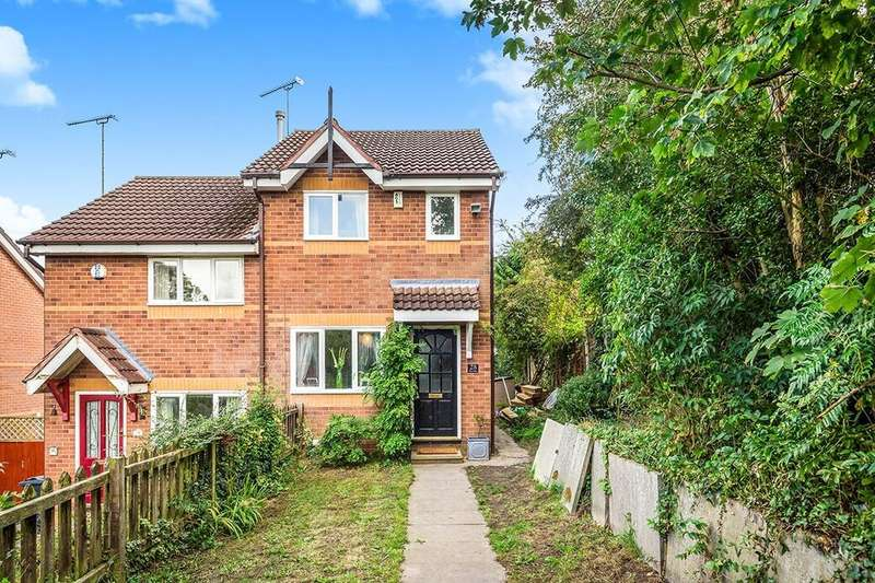 2 Bedrooms Semi Detached House for sale in The Glen, Blacon, Chester, CH1