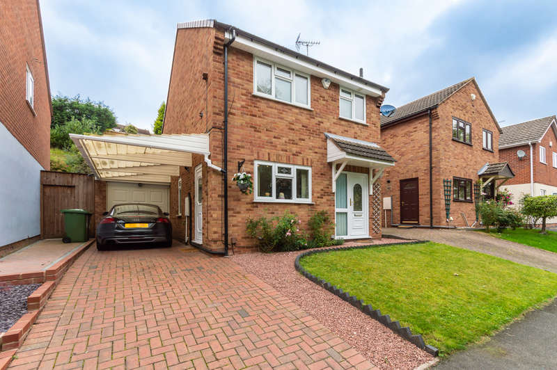 3 Bedrooms Detached House for sale in Beaulieu Close, Kidderminster