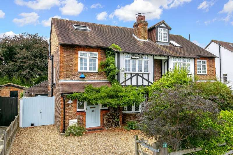4 Bedrooms Semi Detached House for sale in Gloucester Road, Hampton, TW12