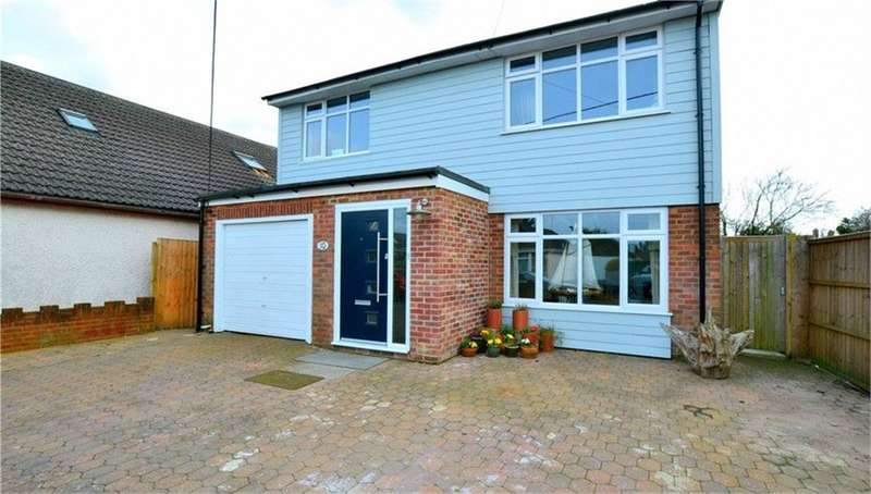 4 Bedrooms Detached House for sale in Hiltom Road, RINGWOOD, Hampshire