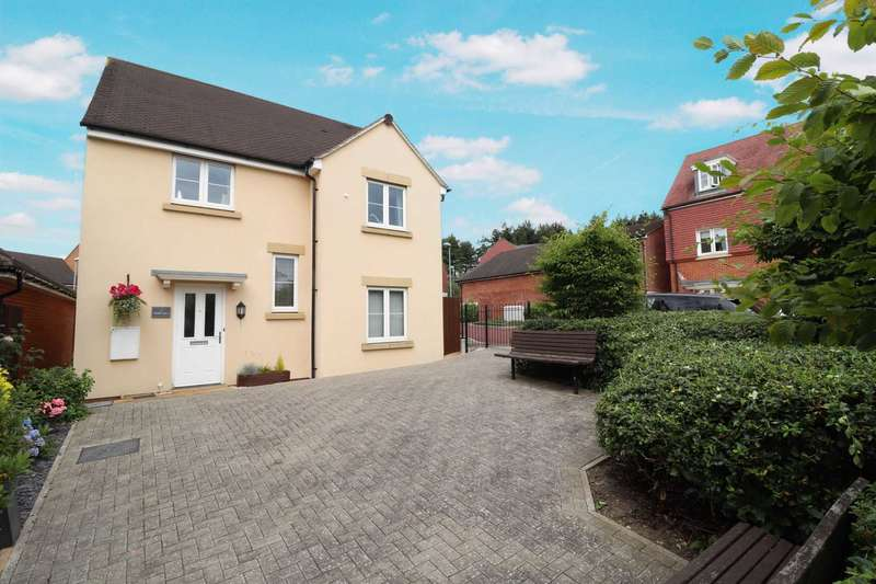 4 Bedrooms Detached House for sale in Tern Hill, Jennett`s Park