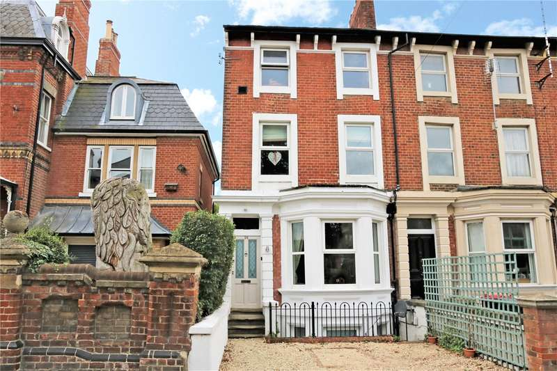 5 Bedrooms End Of Terrace House for sale in Hamilton Road, Reading, Berkshire, RG1