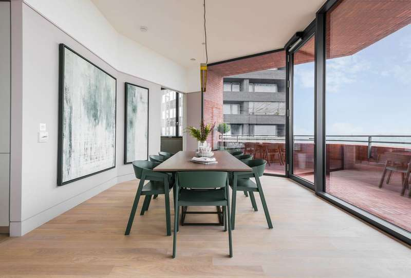 3 Bedrooms Flat for sale in Hoxton Press, Hoxton, N1