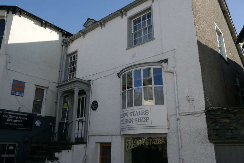 1 Bedroom Flat for sale in Flat 2, Old Stamp House, Church Street, Ambleside, Cumbria