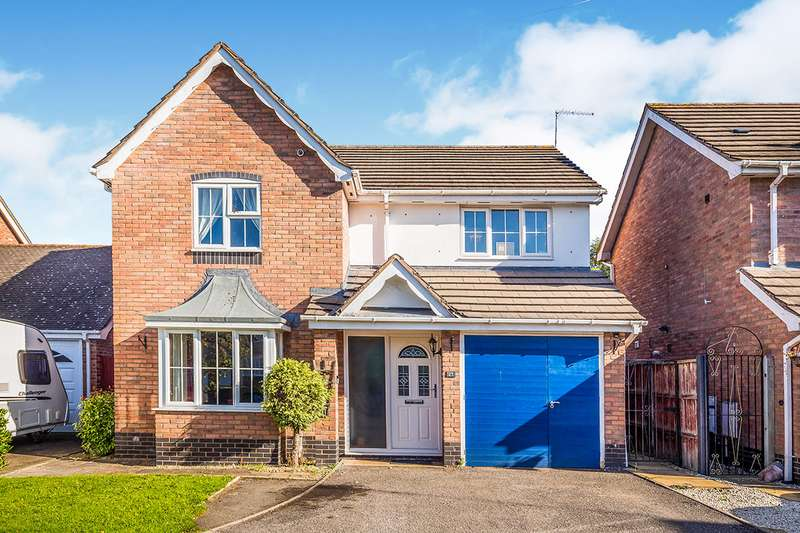4 Bedrooms Detached House for sale in Doctors Meadow, Ruyton Xi Towns, Shrewsbury, Shropshire, SY4