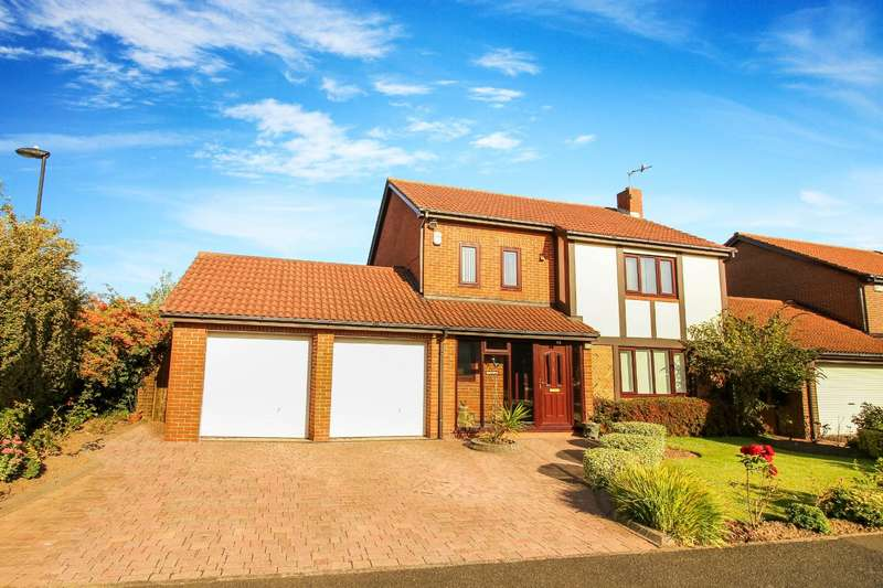 4 Bedrooms Detached House for sale in Kelso Drive, North Shields