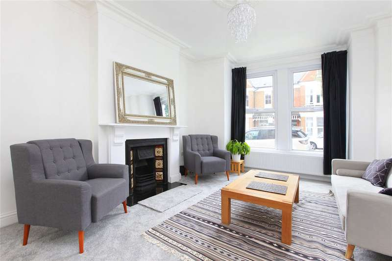 4 Bedrooms Terraced House for sale in Dagnan Road, Clapham South, London, SW12